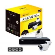 KIT DVR 1080P VTV 4CH+2CAM+HD500GB+CONECT+FONTES
