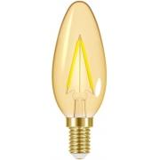 LAMP.LED FILAMENTO VINTAGE VELA TASCHIBRA B35 3W 127V 11080380