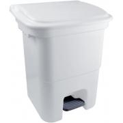 LIXEIRA C/PEDAL PLASVALE 50L BR 12908300