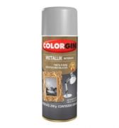 METALLIK SPRAY COLORGIN PRATA 053