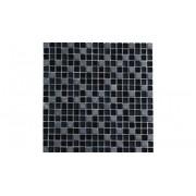 PASTILHA CRISTAL STONE MIX BLACK VETROMANI 30X30 CX8PCS VT0338C4236
