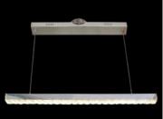 PENDENTE CRYSTAL RELUZ LED LINHA RETA 3500K 8006/1