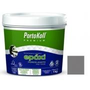 REJUNTE EPOXI PORCELANATO PORTOKOLL GRAFITE 1KG