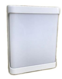 ARANDELA ROMA PLAST.EXT.LED RELUZ 20W 6000K BR 9614