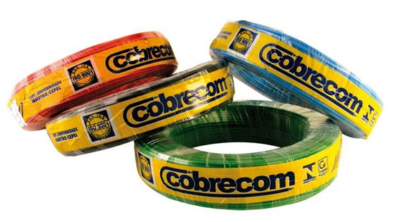 CABO FLEX.750V COBRECOM 2,50MM VM MT (M01000) 1150506401