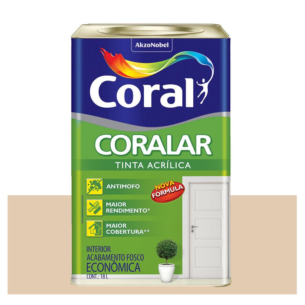 CORALAR ACRIL. CORAL 18L AREIA 5202335