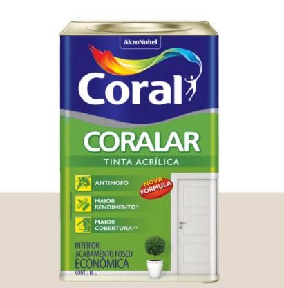 CORALAR ACRIL. CORAL 18L BR.GELO 5206993/5202281