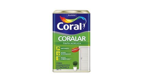 CORALAR ACRIL. CORAL 18L BR.NEVE 5206990