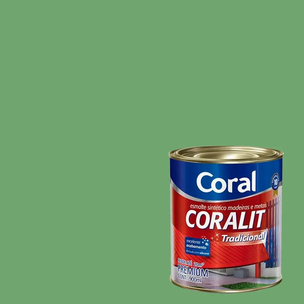 CORALIT FOSCO CORAL 0,9L VD.ESCOLAR 5202792