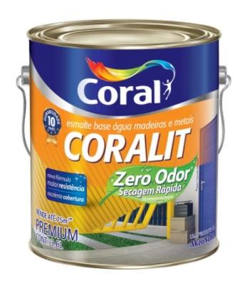 CORALIT ZERO BRILH. CORAL 3,6L BR.NEVE 5202887