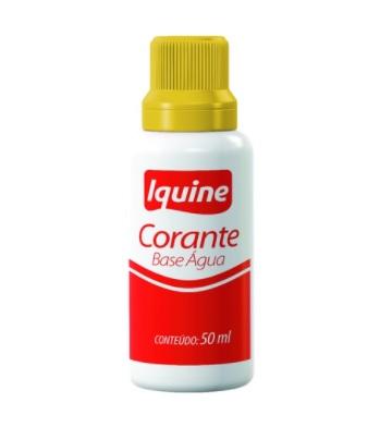 CORANTE BASE AGUA IQUINE AM.50ML 185406530