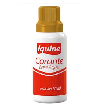 CORANTE BASE AGUA IQUINE OCRE 50ML 185405930