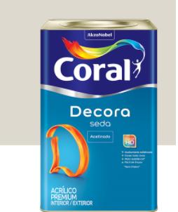 DECORA SEDA ACETINADO CORAL 18L BR.NEVE 5229669