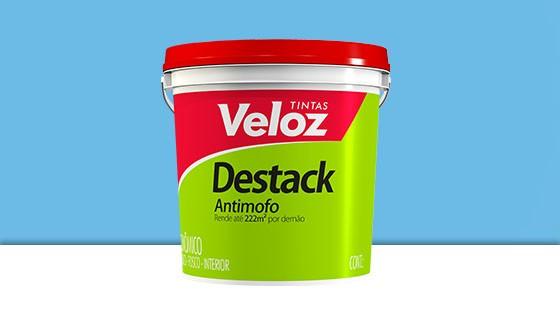 DESTACK ACRIL. VELOZ 18L AZ.CELESTE 2192