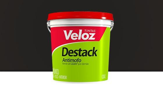 DESTACK ACRIL. VELOZ 18L PRETO 2210