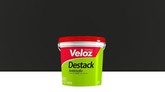 DESTACK ACRIL. VELOZ 3,6L PRETO 2839