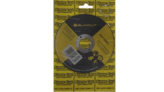 DISCO CORTE INOX STONE CUT 115X7/8''X1.0MM