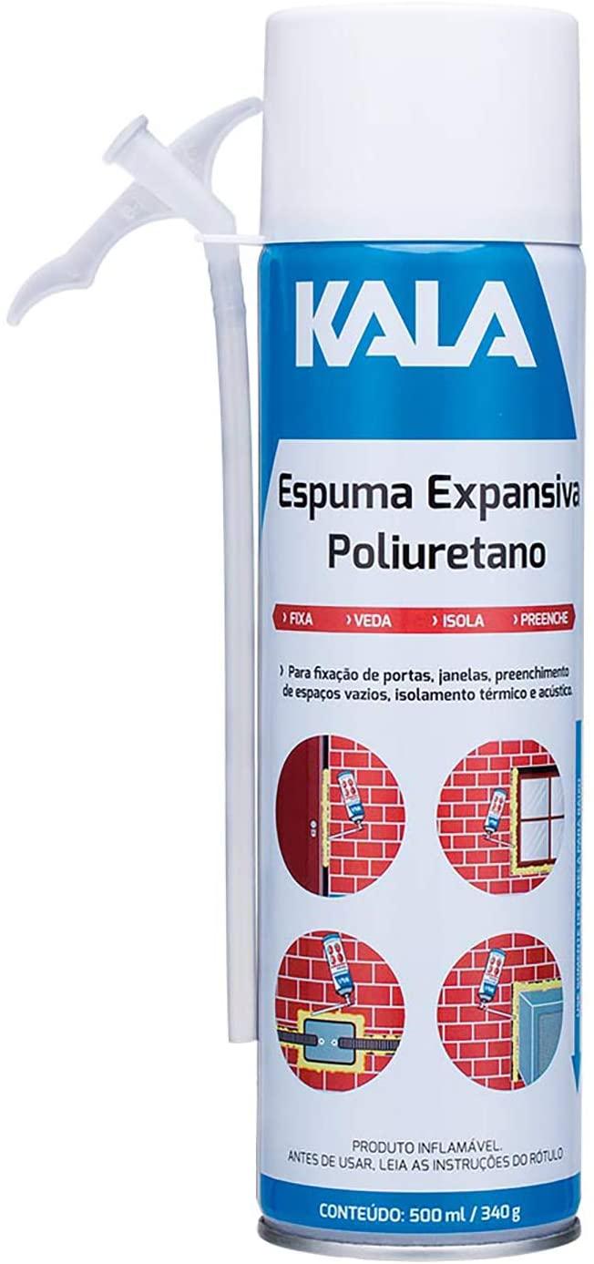 ESPUMA POLIURETANO- KALA NEGRAO 512630 500ML/340G