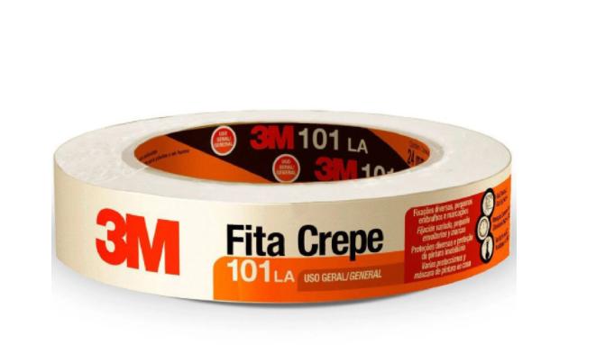 FITA CREPE 3M 101LA 18MMX50M HB004572341