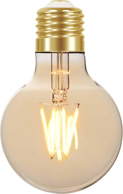 LAMP.LED FILAMENTO VINTAGE GLOBO TASCHIBRA G80 4W AUTVOLT 11080382