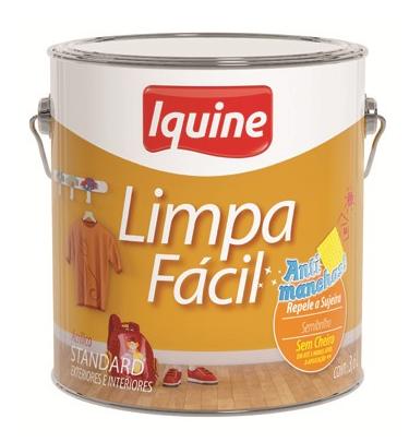 LIMPA FACIL SEMIBRILHO IQUINE PALHA 3,6L 25301401