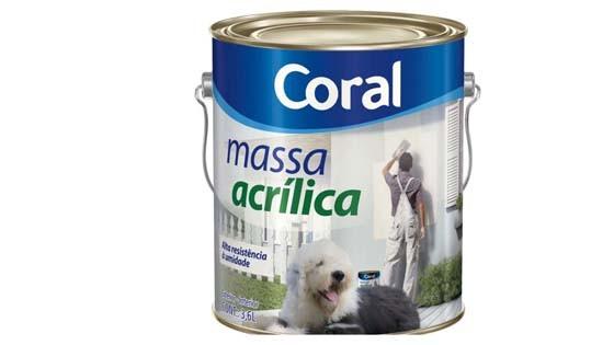 MASSA ACRILICA CORAL 6KG 5486902