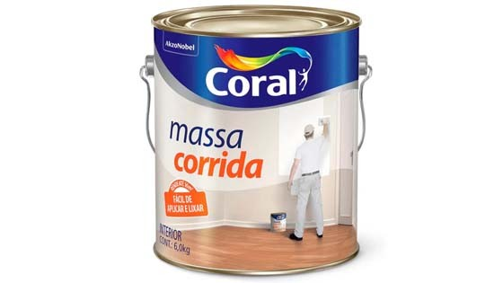 MASSA CORR.CORALAR CORAL PLAS 6KG 5486901