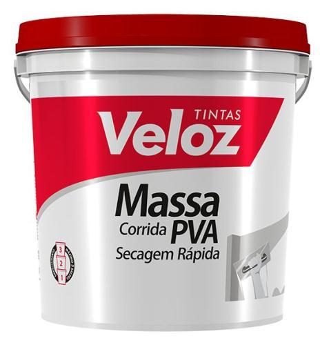 MASSA CORRIDA VELOZ PVA 25KG 4018