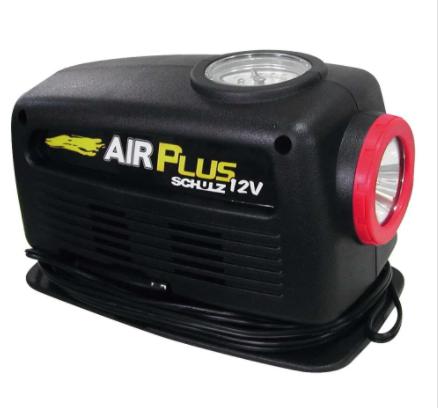 MOTOCOMPRESSOR SCHULZ 12V 120W C/LANTERNA AIR PLUS 9201155