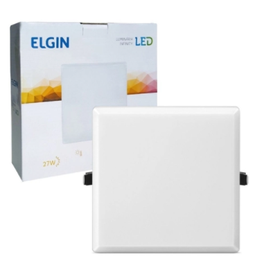PAINEL LED INFINITI ELGIN QUAD 27W BIV 3000K 48FLQD27BM01