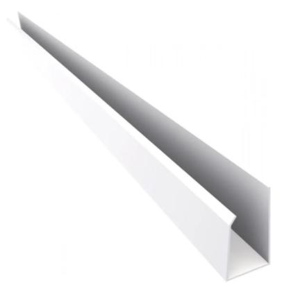 PERFIL U100 P/FORRO PVC PERFILPLAST 8MM C/6 2.201.0091
