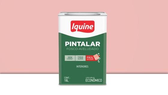 PINTALAR VINIL ACRIL. IQUINE ROSA PETALA 18L 79304105