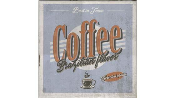 REVESTIMENTO GOURMET 02 COFFEE PIERINI 20X20 CX0,60 160050