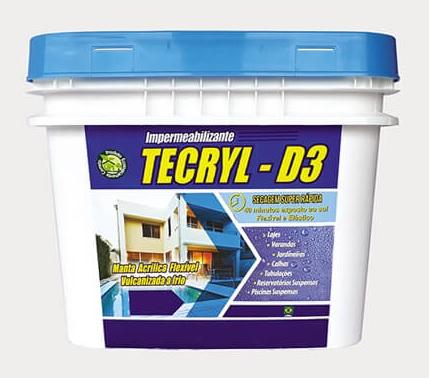 TECRYL D-3 MARCRYL BRANCO 18KG