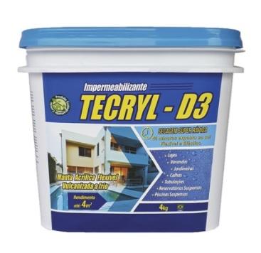 TECRYL D-3 TECRYL AZUL 4,0KG 703