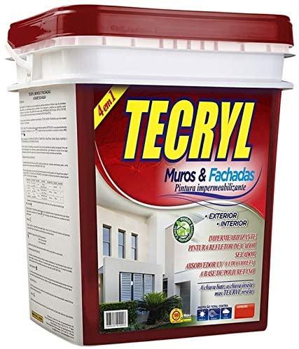 TECRYL MURO E FACHADA TECRYL BRANCO 4,0KG
