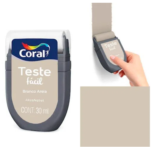 TESTE FACIL CORAL BRANCO AREIA 30ML 5300921