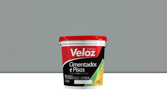 TINTA PISO VELOZ 3,6L CINZA CLARO 3212