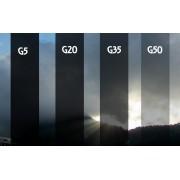 PELÍCULA G50 -TINTADO GRAFITE 0,75 (largura) x 7,50 (comprimento)