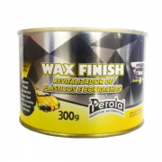 REVITALIZADOR DE PLÁSTICOS E BORRACHAS WAX FINISH PÉROLA 300G