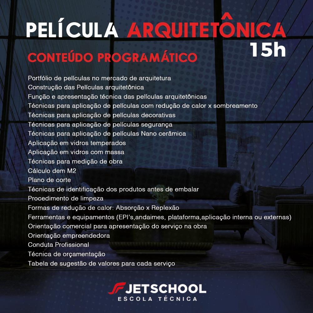 CURSO DE PELÍCULA ARQUITETÔNICA 15 HORAS