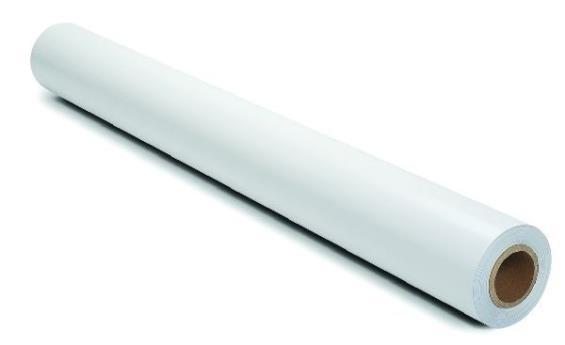 PELÍCULA BRANCO LEITOSO 0,75 (largura) x 7,50 (comprimento)