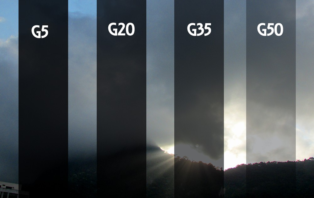PELÍCULA G5 -TINTADO GRAFITE 0,75 (largura) x 30,00 (comprimento)