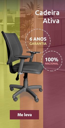 Cadeira Ativa - ergonômica com diversos ajustes