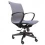 Cadeira Diretor Pixel Cinza (Smart Tech) Com Estrutura Preta