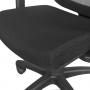 Cadeira Diretor Tecna Crepe Relax Tela Preta