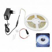 Fita Led Kit Ip20 5m G-Light C/ Fonte ***Branca