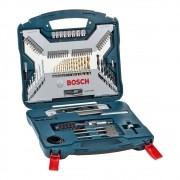 Jogo Bosch Xline Titanio 100 Pcs 2607017397