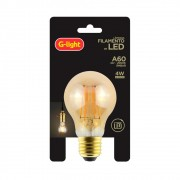 Lamp.Led A60 Filamento 4w G-Light 2000k