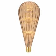 Lamp.Led Bt125 Filamento 2w Taschibra Ambar